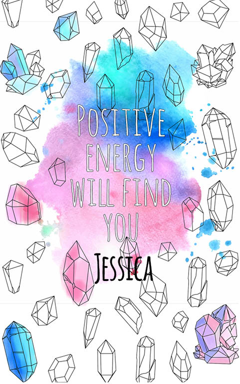 anti stress adult coloring personalized with name Jessica best friend gift idea