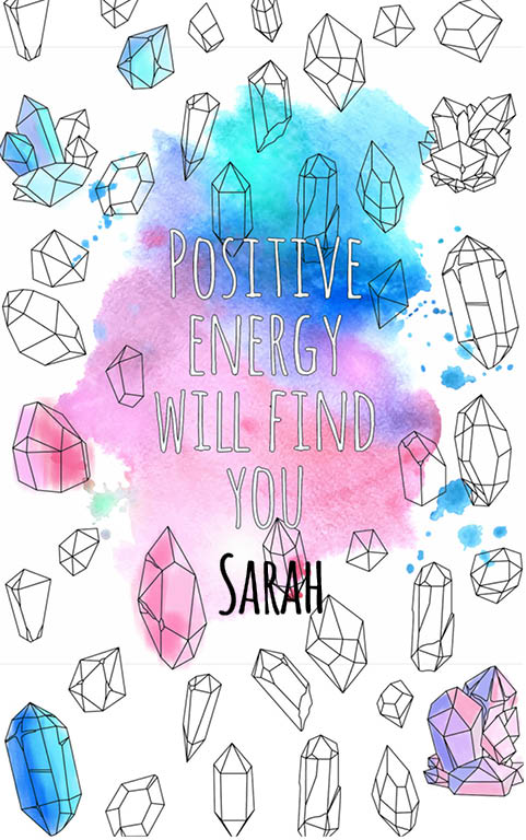 anti stress adult coloring personalized with name Sarah best friend gift idea